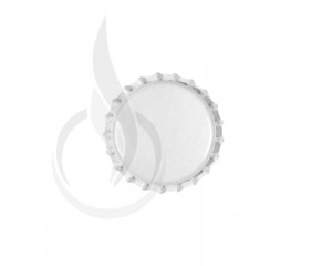 Beer Bottle Cap White Pry-off