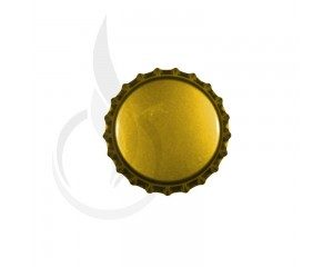 Beer Bottle Cap Gold Pry-off