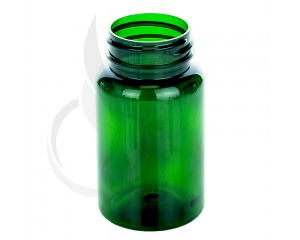 100cc Green PET Packer Bottle 38-400