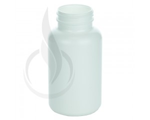 300cc White HDPE Packer Bottle 45-400