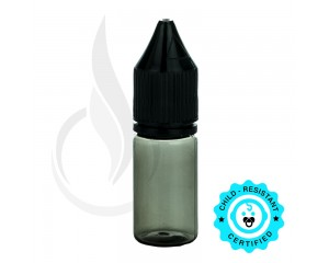 V3 - 10ML PET BLACK CHUBBY GORILLA W/CRC/TE BLACK CAP
