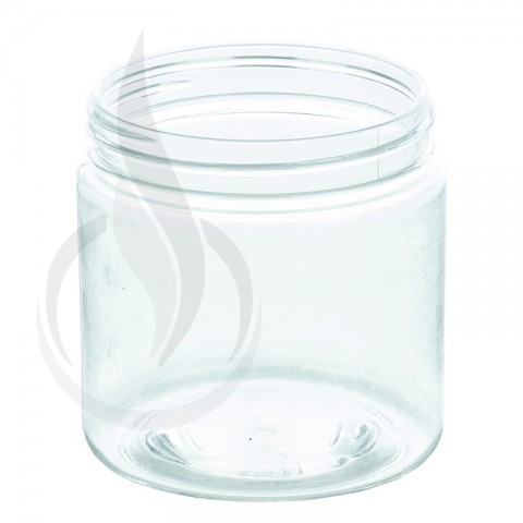 image for 4oz PET SS Jar - Clear - 58-400