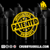 V3 - 100ML PET CHUBBY GORILLA W/ CRC/TE SOLID BLACK CAP alternate view