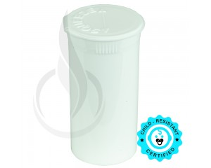 Phillips RX Pop Top Bottle - White - 13 Dram