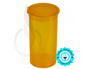 Phillips RX Pop Top Bottle - Orange - 13 Dram