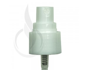 WHITE Fine Mist Sprayer Smooth Skirt 24-410 177mm(1200/cs)