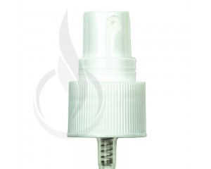 White Fine Mist Sprayer Ribbed Skirt 20-410 5.5(2000/cs)