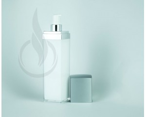 140ml Silver Lid Square Series Bottle