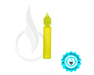 30ML LDPE TRANSPARENT LIME GREEN CHUBBY GORILLA W/CRC LIME GREEN CAP