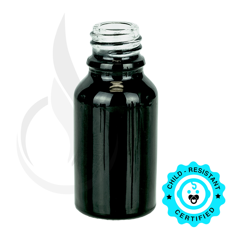 15ml Shiny Black Euro 18-415(468/cs)