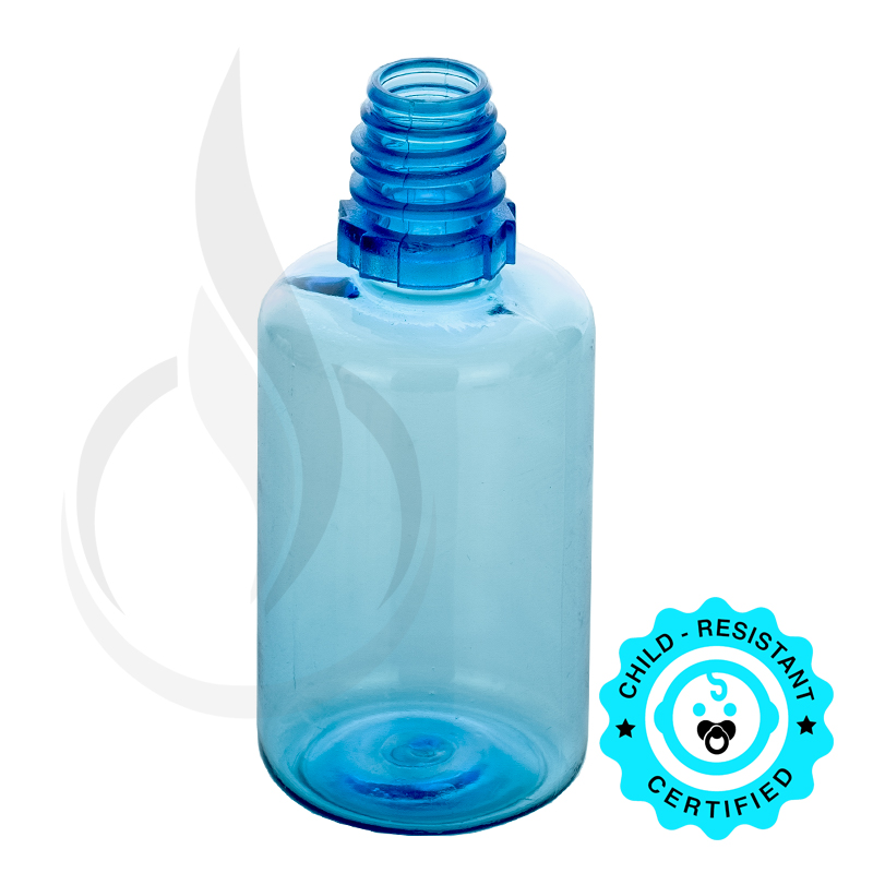 30 ML BLUE PET PLASTIC BOTTLE(2000/cs)