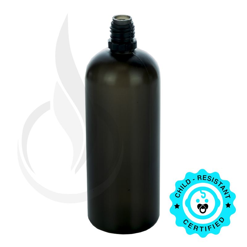 120 ML LDPE TRANSPARENT BLACK PLASTIC BOTTLE(625/cs)