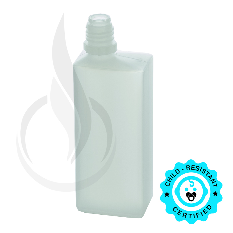 60 ML LDPE RECTANGLE PLASTIC BOTTLE