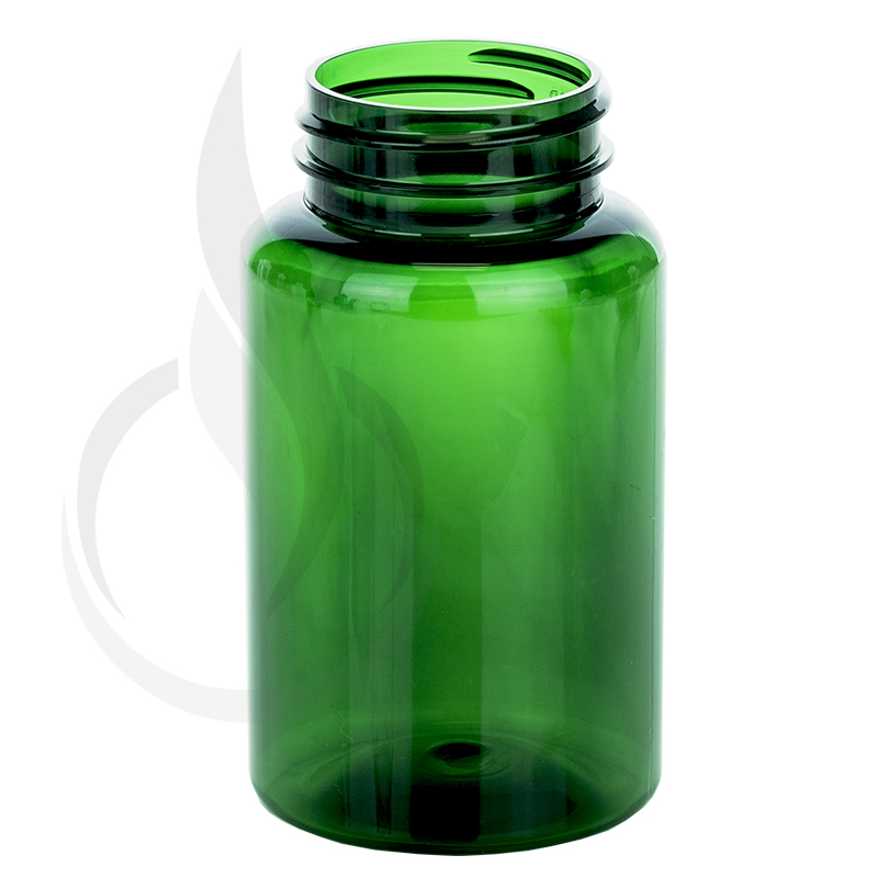 225cc Dark Green PET Packer Bottle 45-400