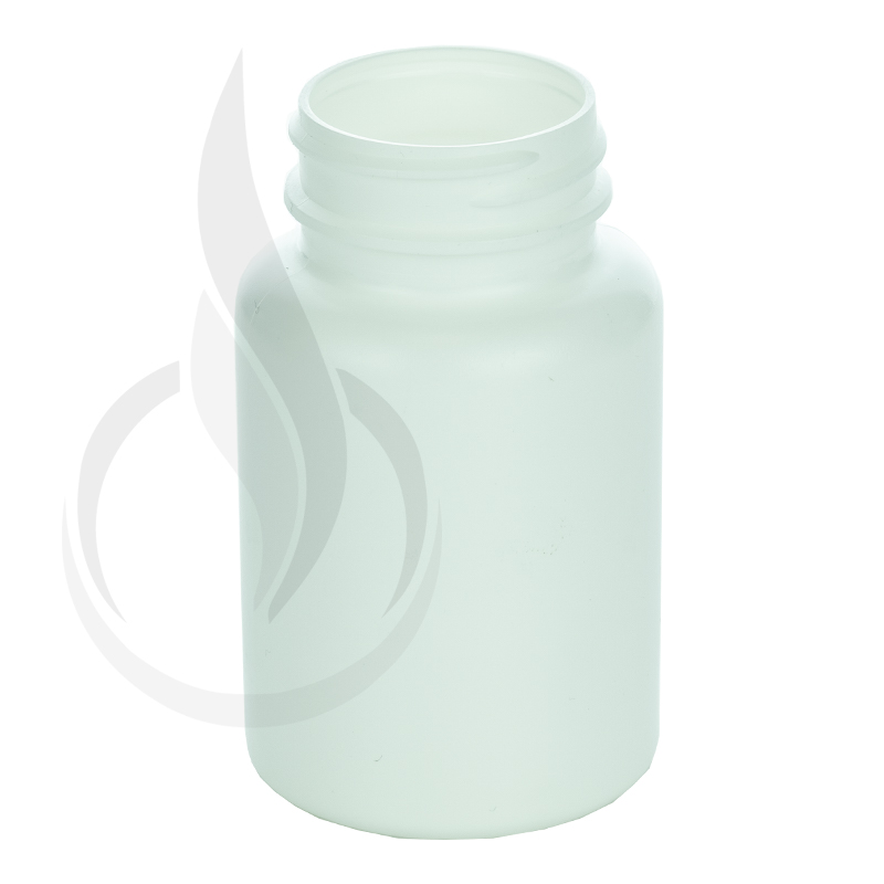 120cc White HDPE Packer Bottle 38-400