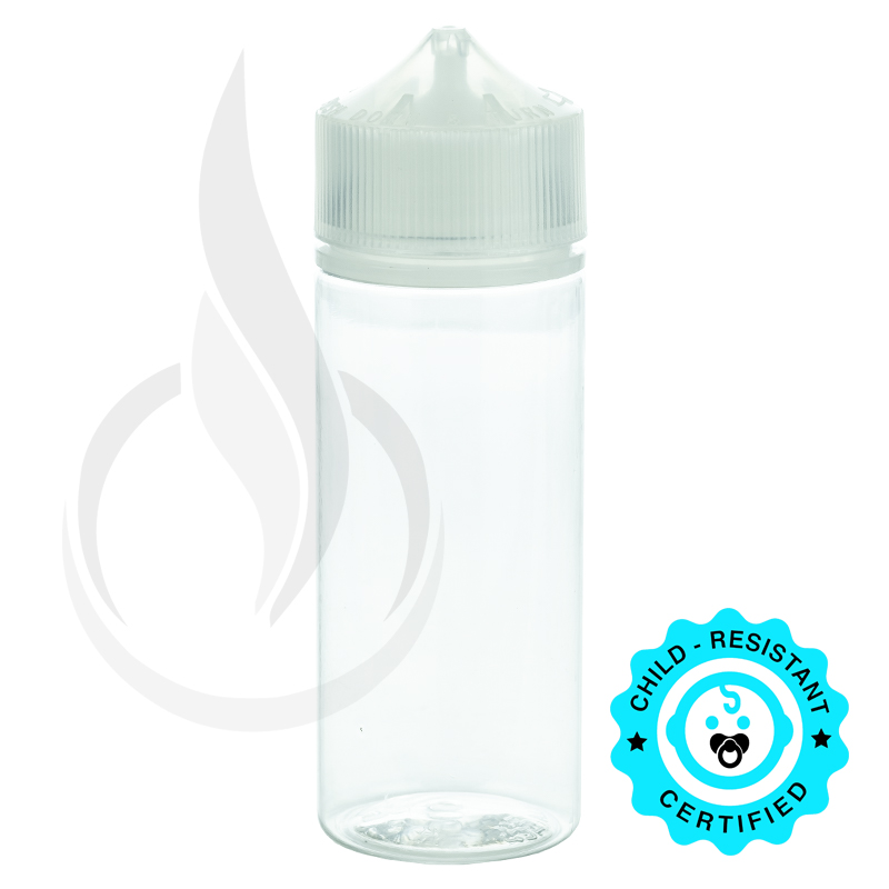 V3 - 120ML PET CHUBBY GORILLA W/ CRC/TE CLEAR CAP