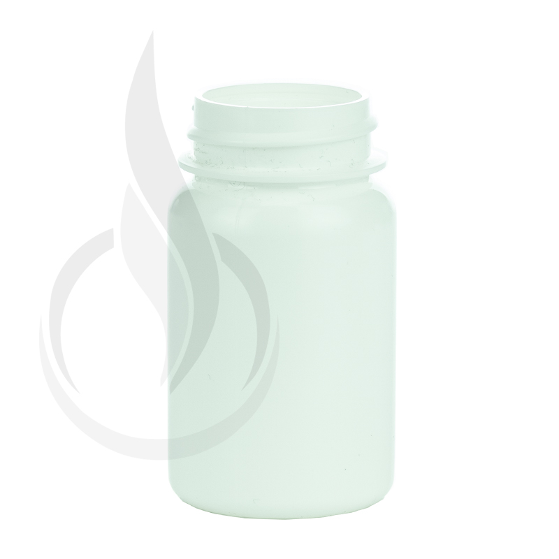 50cc White HDPE Packer Bottle 33-400(1150/cs)
