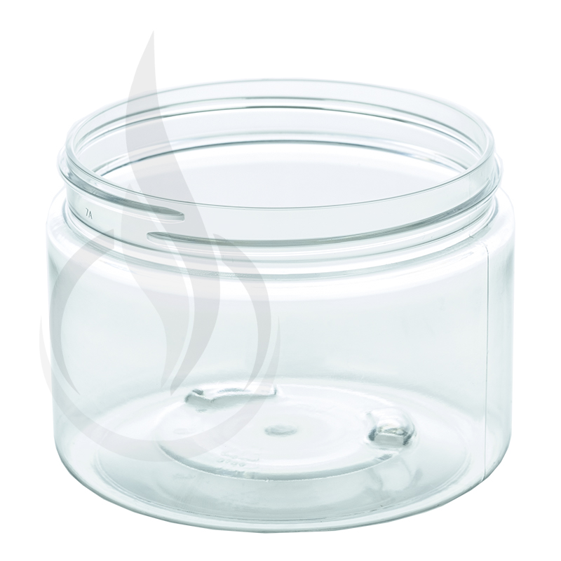 12oz PET SS Jar - Clear - 89-400(280/cs)