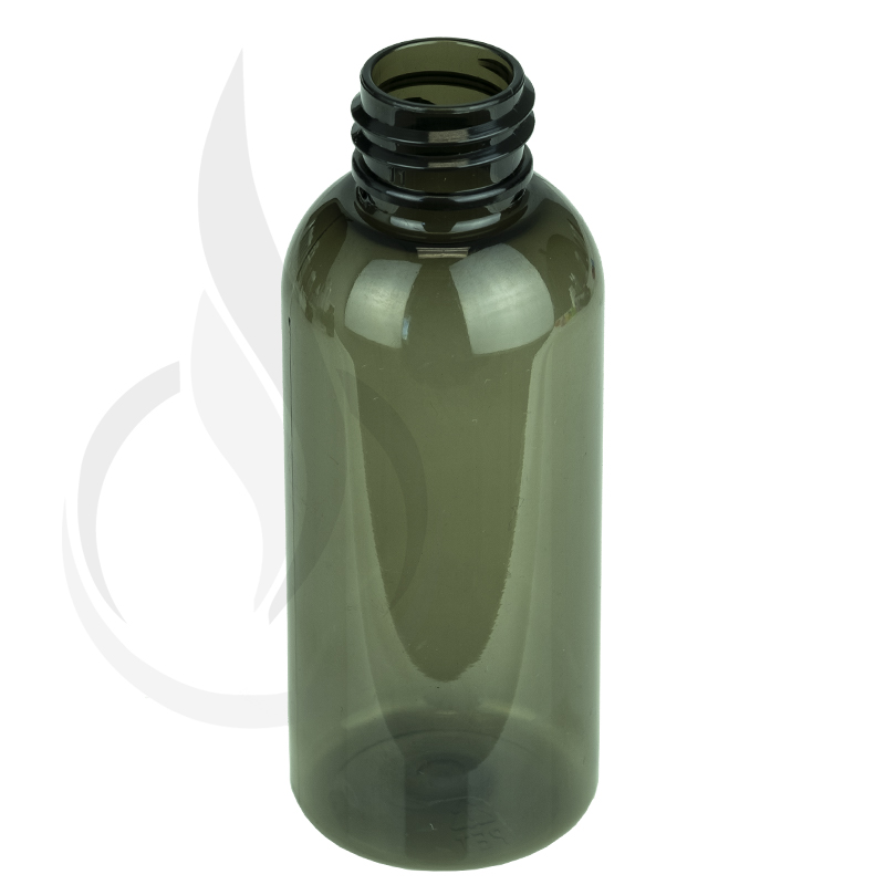 60ml Smoke Black Cosmo Round PET Bottle 20-410