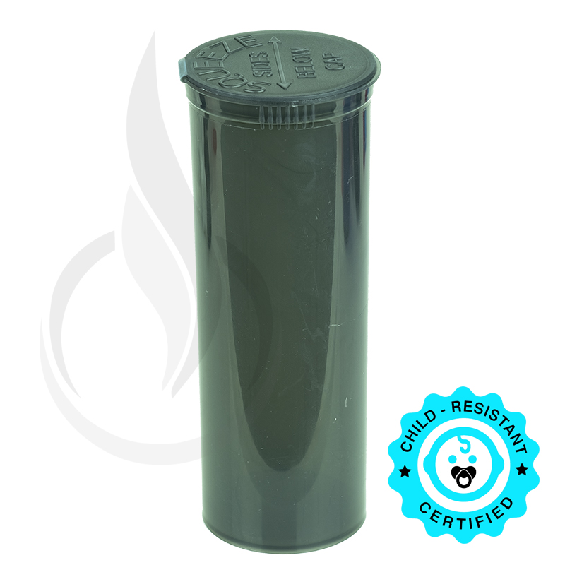 PHILIPS RX® Pop Top Bottle - Smoke Black - 60 Dram