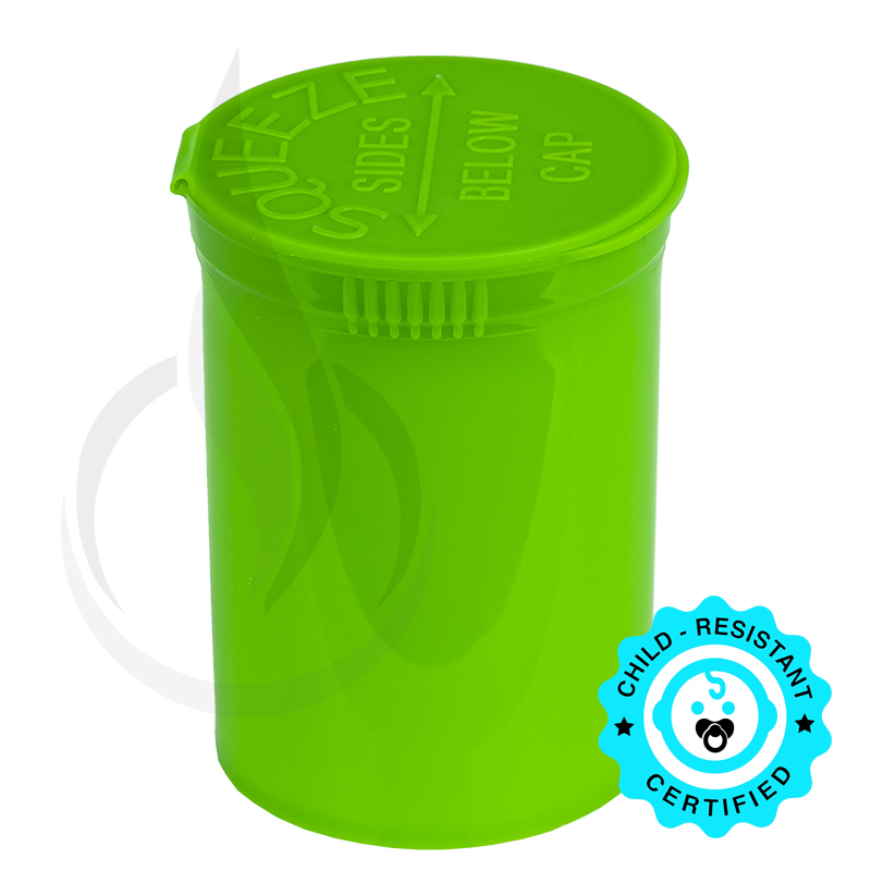 PHILIPS RX® Pop Top Bottle - Lime - 30 Dram