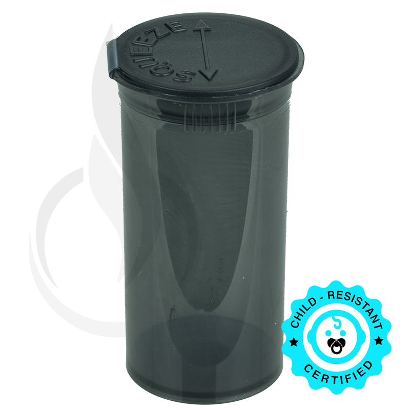 PHILIPS RX® Pop Top Bottle - Smoke Black - 13 Dram