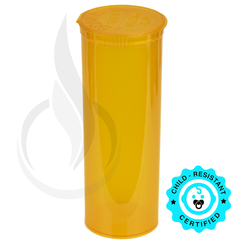 PHILIPS RX® Pop Top Bottle - Orange - 60 Dram
