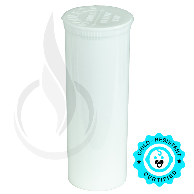 Phillips RX Pop Top Bottle - White - 60 Dram