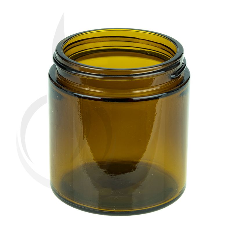 4oz Amber Glass SS Jar 58-400