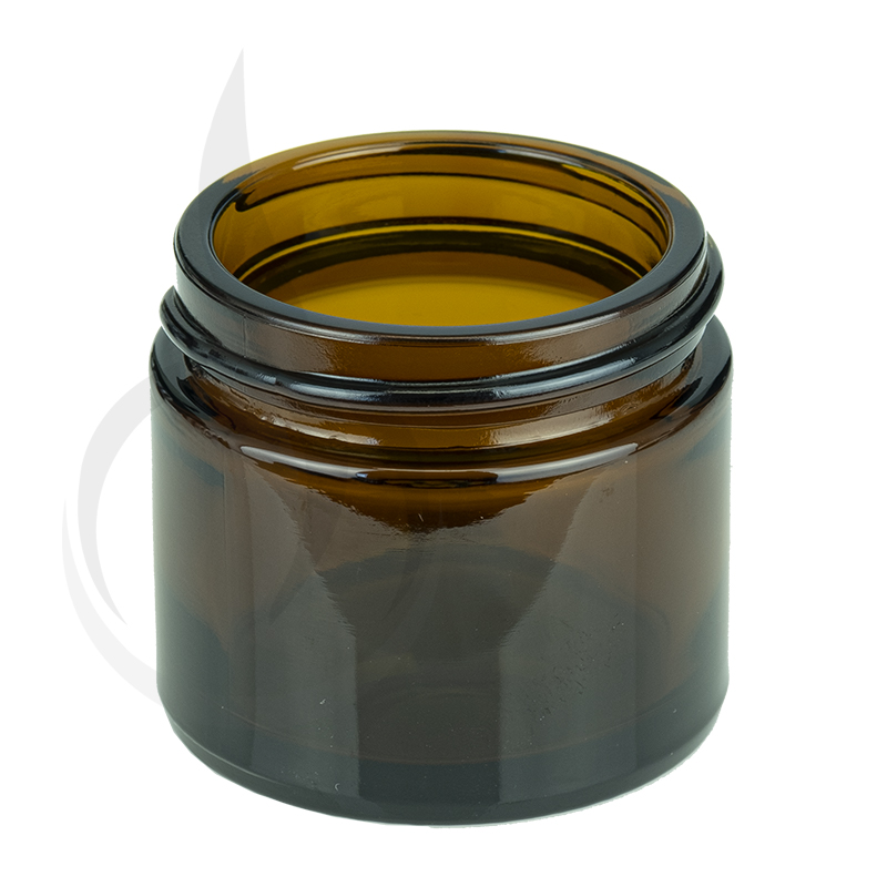 1oz  Amber Glass SS Jar 43-400