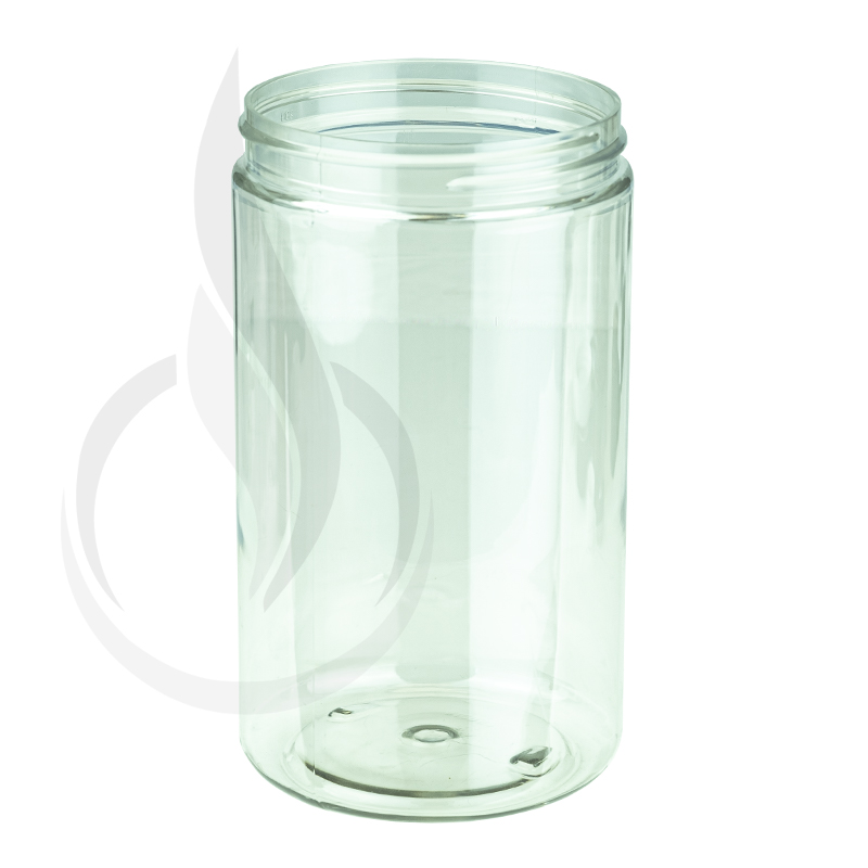 32oz Clear PET SS Jar with 89-400 Neck Finish