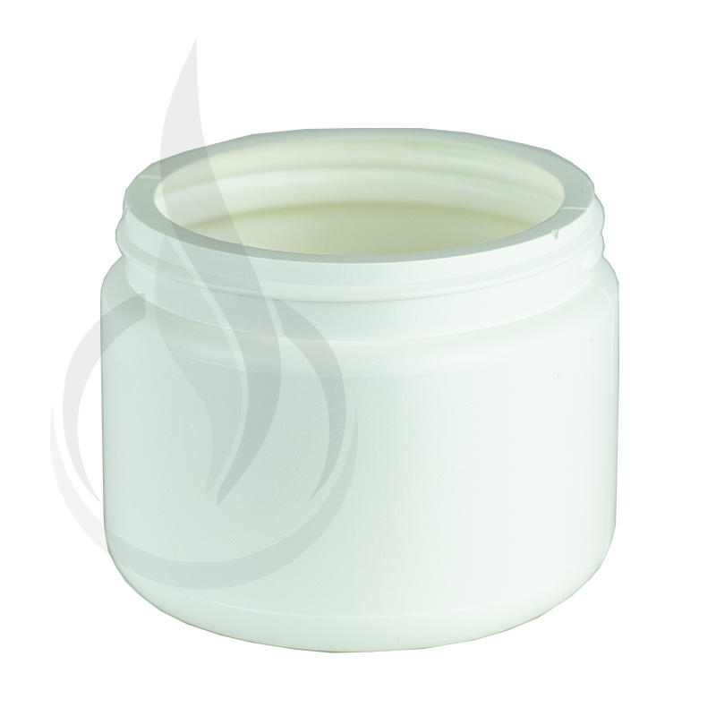 WHITE 12oz HDPE Jar 89/400