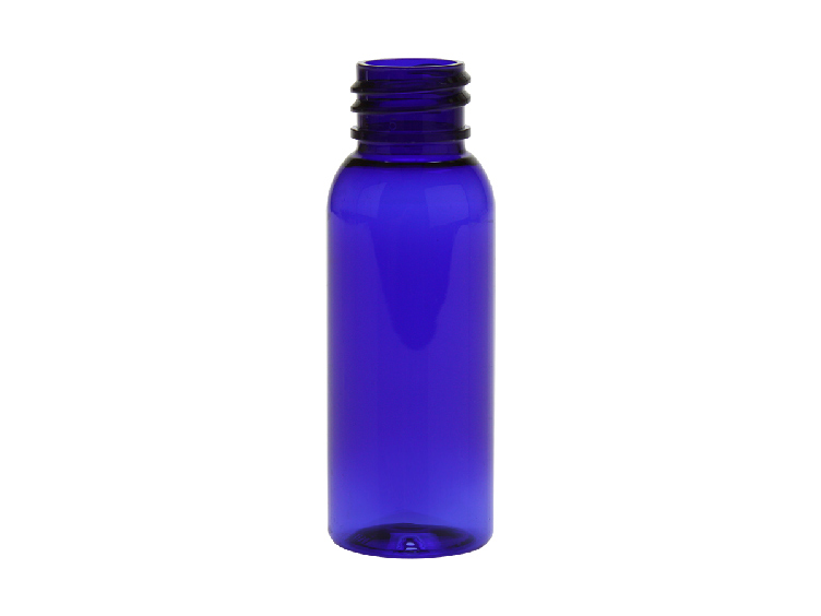 30ml BLUE Cosmo Round PET Bottle 20-410(1500/cs)
