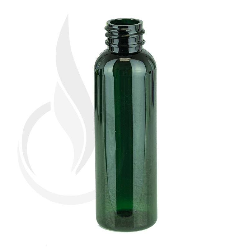 2oz (60ml) GREEN Bullet PET Bottle 20-410