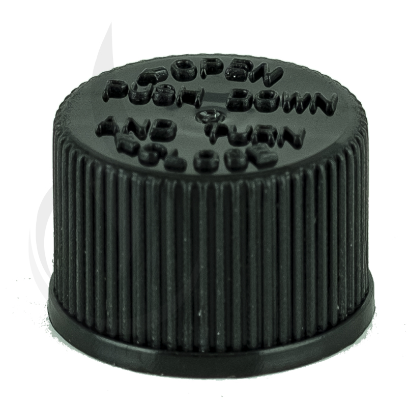 Black CRC Lid for Joint Tubes(5000/cs)