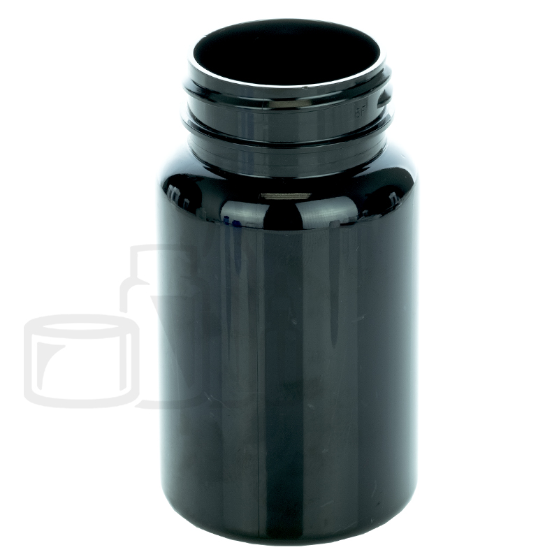 100cc Dark Amber PET Packer Bottle 38-400(560/cs)