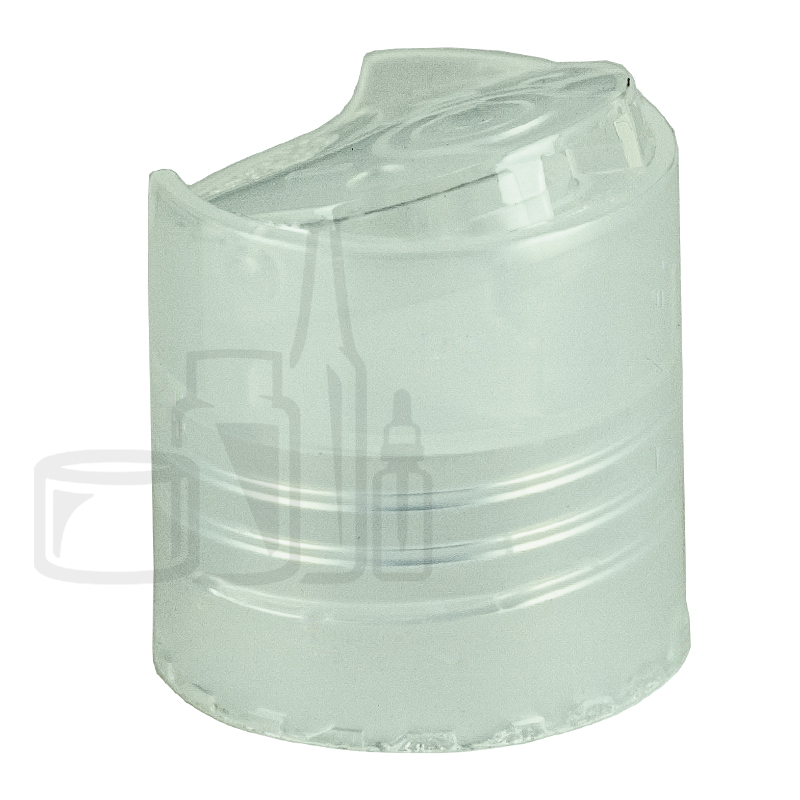 Disc Top - Clear - Smooth Skirt without Liner - 24-410(3,334/cs)
