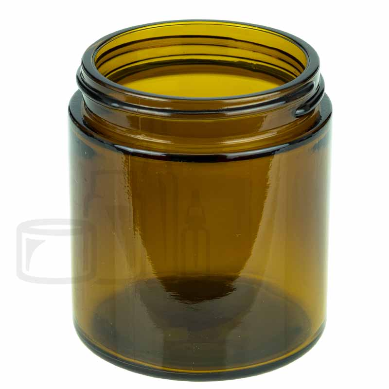 4oz Amber Glass SS Jar 58-400(48/pack)