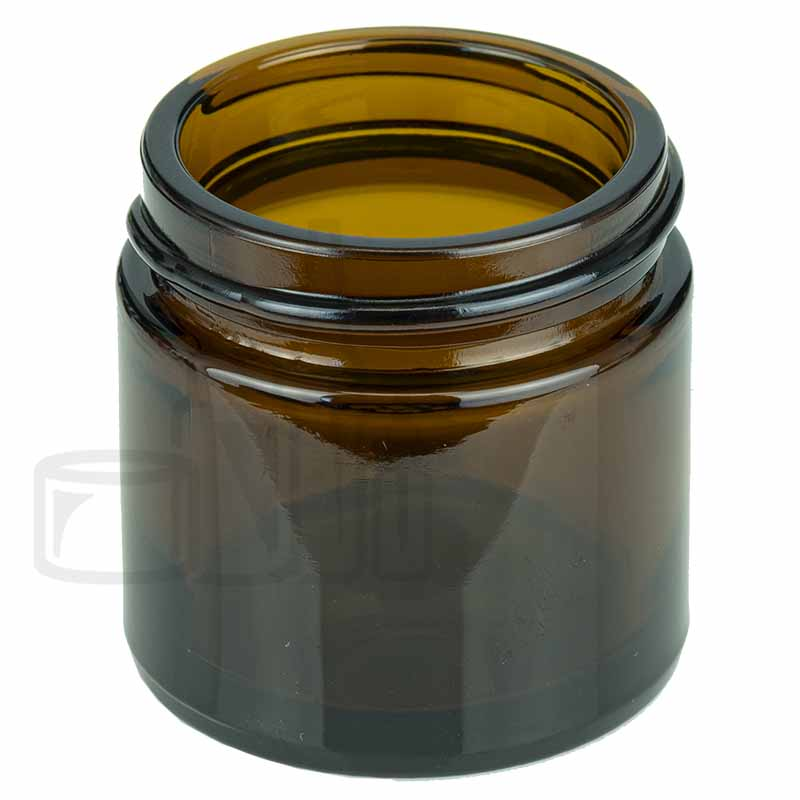 1oz  Amber Glass SS Jar 43-400(160/cs)