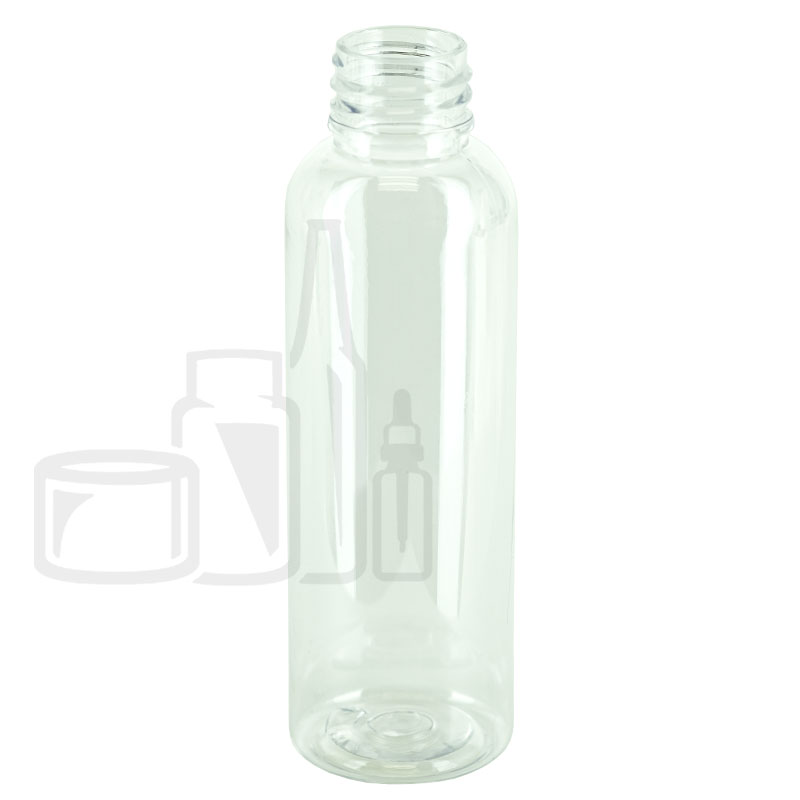 2oz Clear Cosmo Round PET Bottle 20-410(1165/cs)