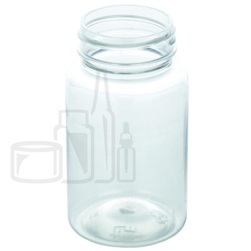 100cc Clear PET Packer Bottle 38-400(560/cs)