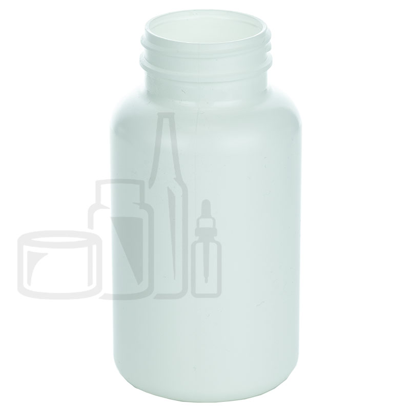 300cc White HDPE Packer Bottle 45-400(340/cs)