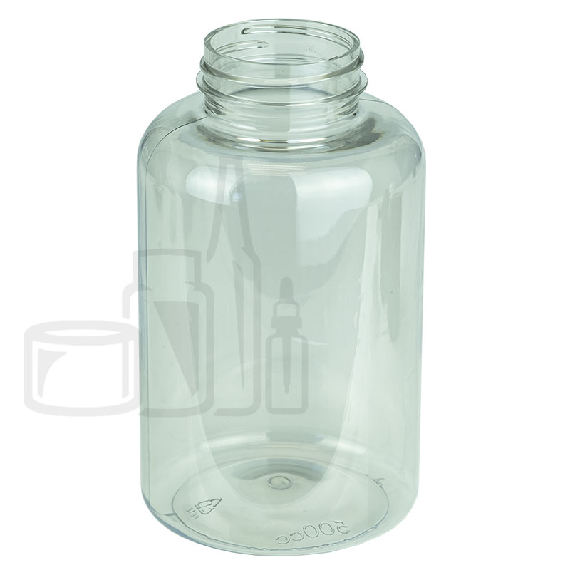 500cc Clear PET Packer Bottle 45-400(170/cs)