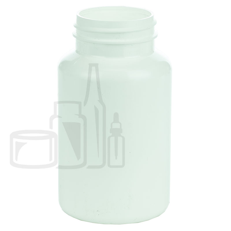 200cc White HDPE Packer Bottle 38-400(270/cs)