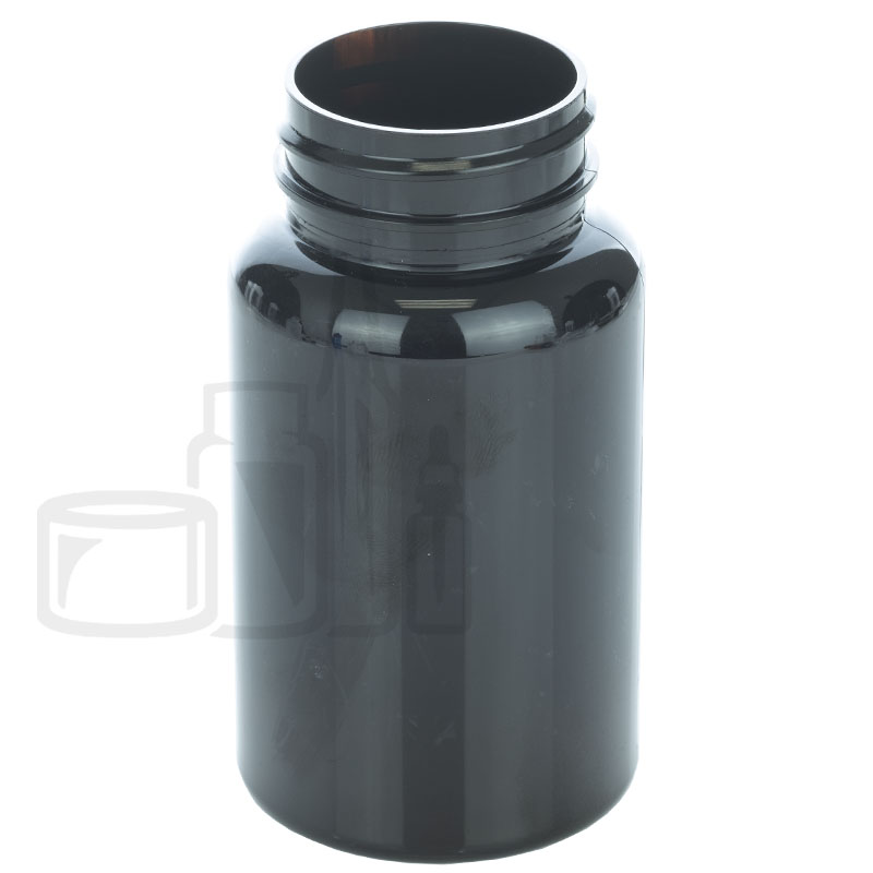 120cc Dark Amber PET Packer Bottle 38-400(500/cs)