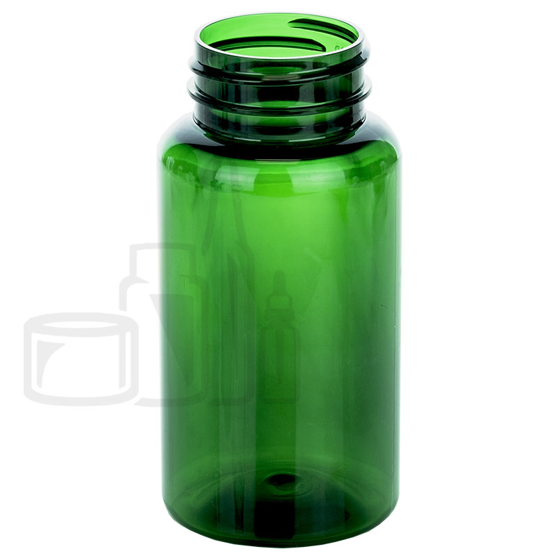 150cc Green PET Packer Bottle 38-400(400/cs)