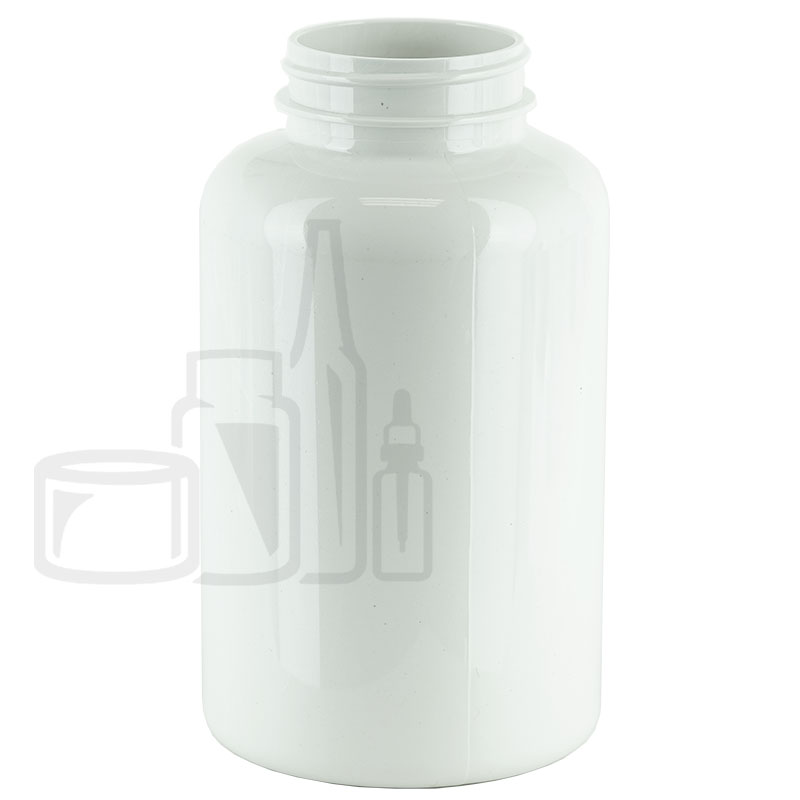 400cc White PET Packer Bottle 45-400