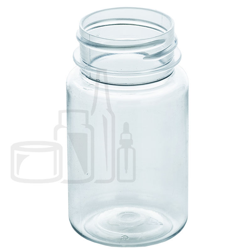 60cc Clear PET Packer Bottle 33-400(1000/cs)