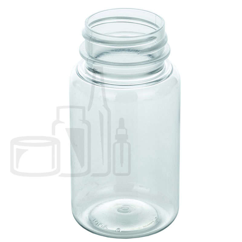 75cc Clear PET Packer Bottle 33-400(750/cs)
