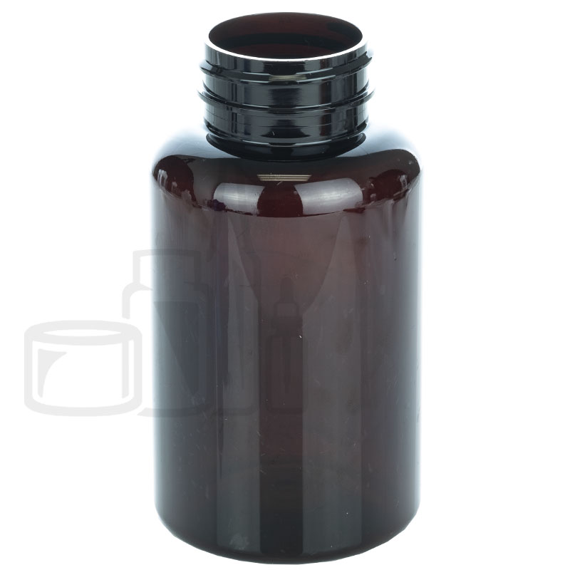 200cc Dark Amber PET Packer Bottle 38-400(285/cs)